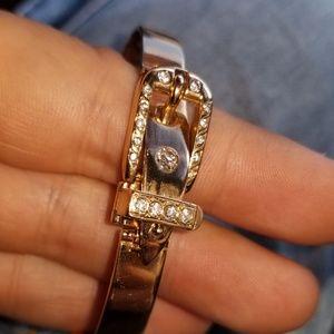 Gucci Jewelry - Vintage Gucci 18kt Gold & Diamonds Bracelet